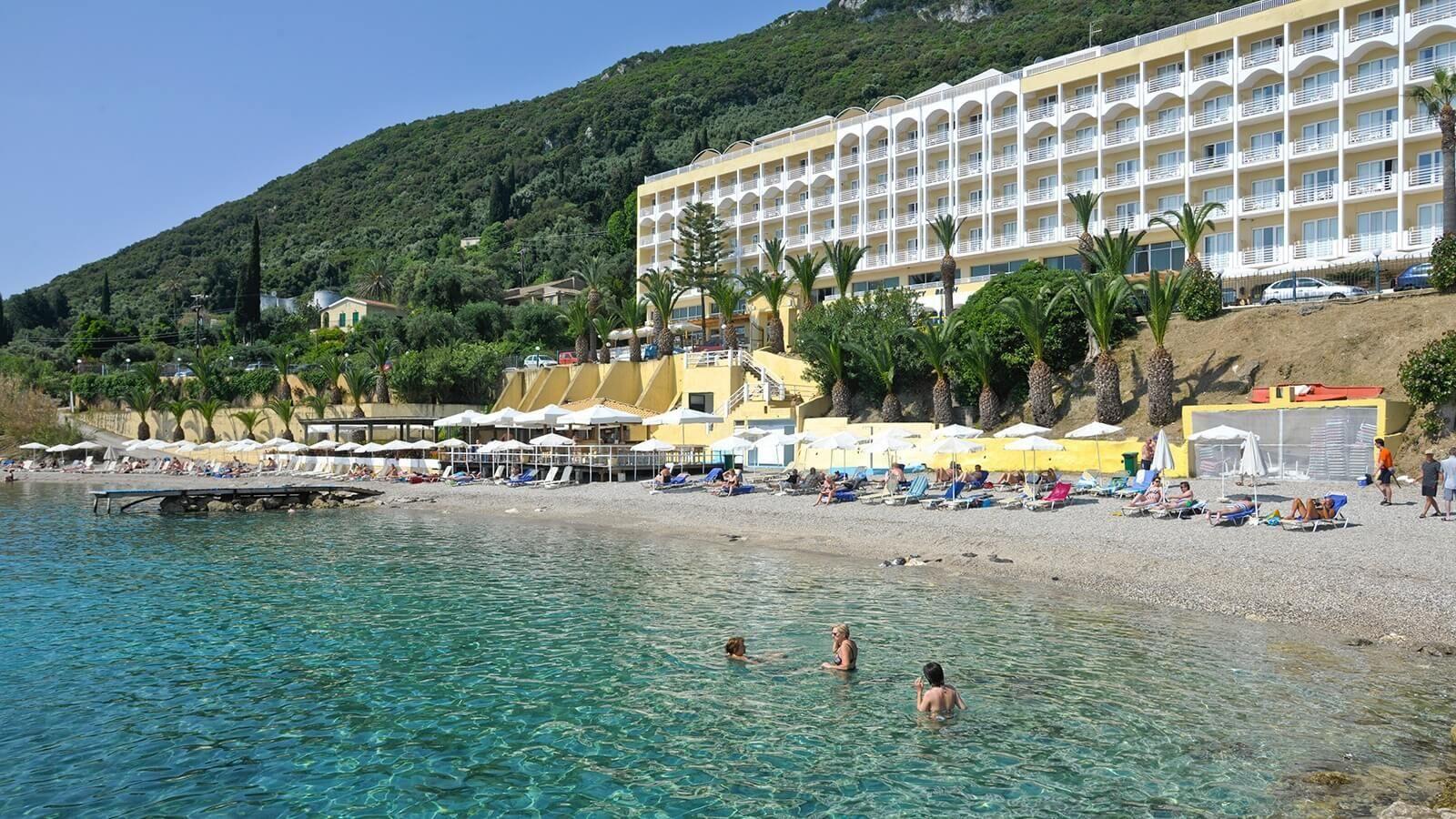 Louis Corcyra Beach Corfu  OFFICIAL SITE  All